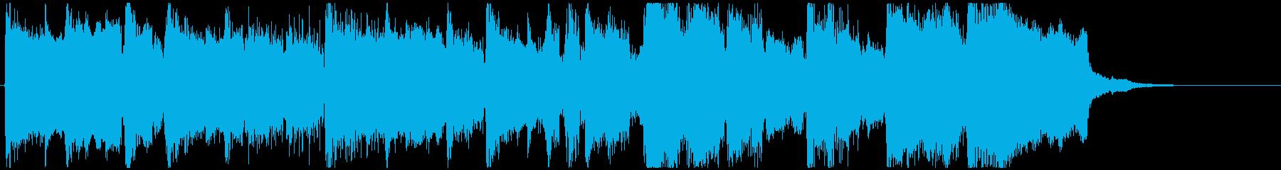 ブリキな雰囲気のトイ楽器ジングル◆15秒の再生済みの波形