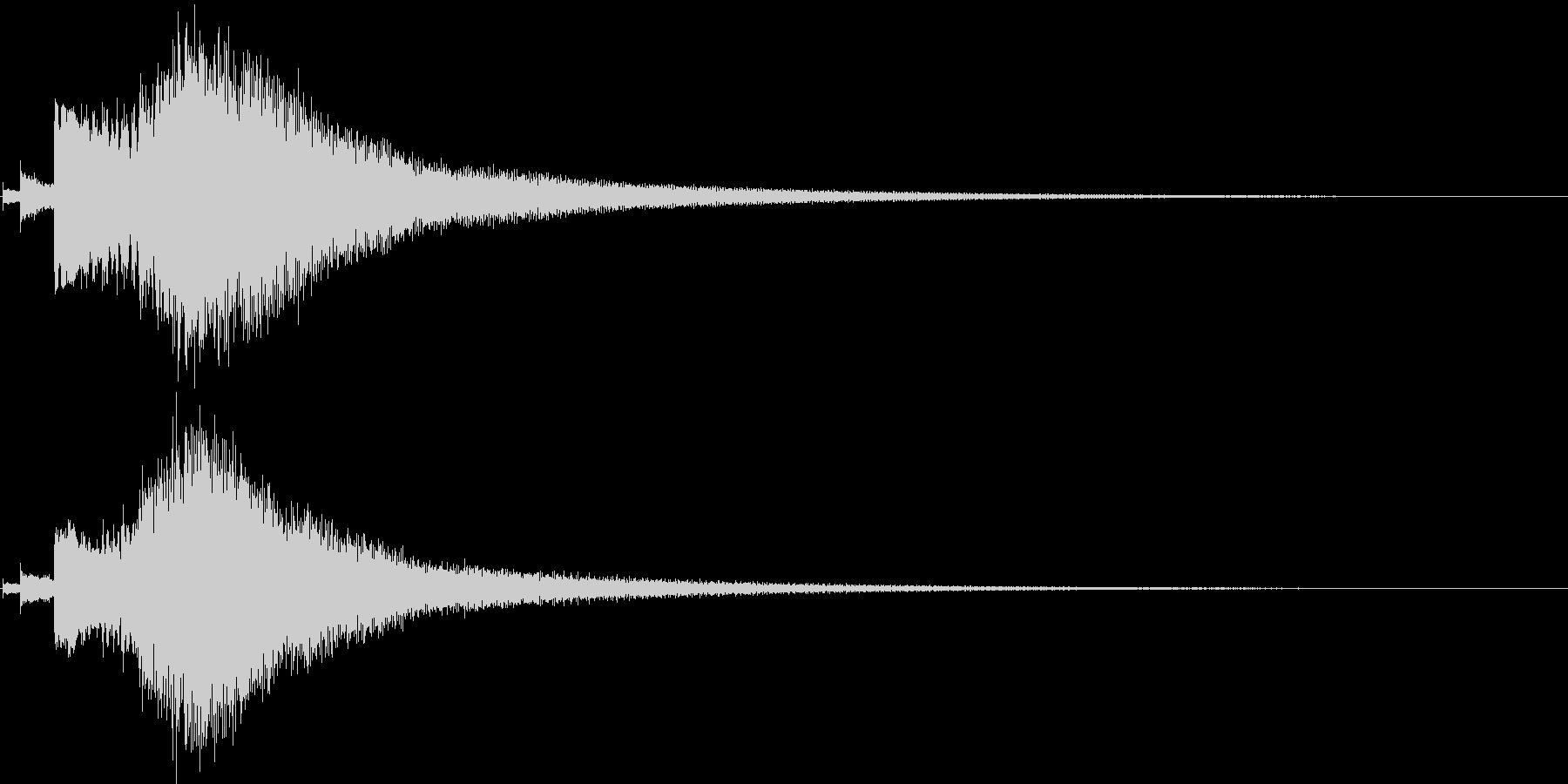キラキラ-1 場面転換などの未再生の波形