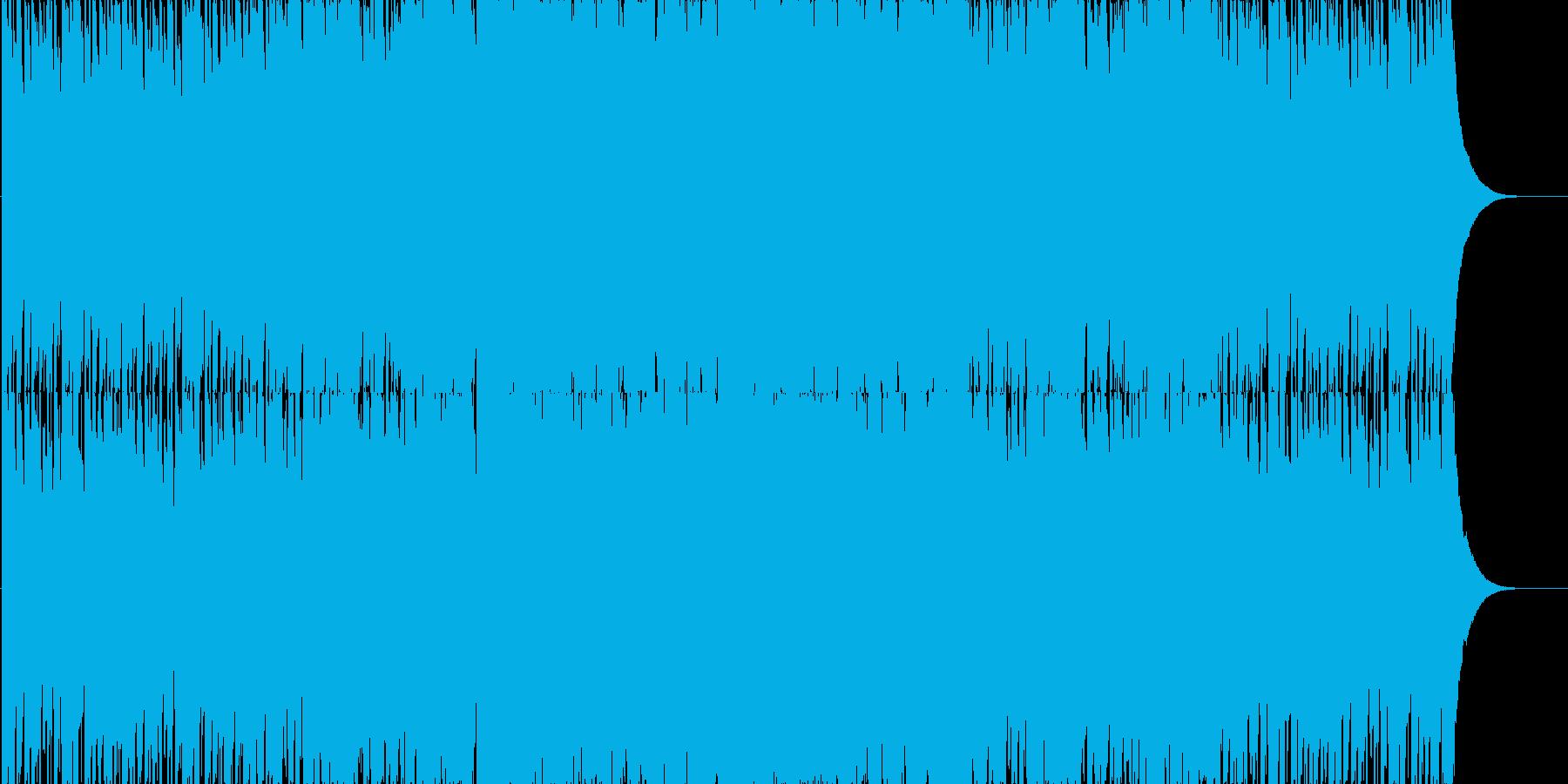 強く儚い感動するストリングスロックの再生済みの波形