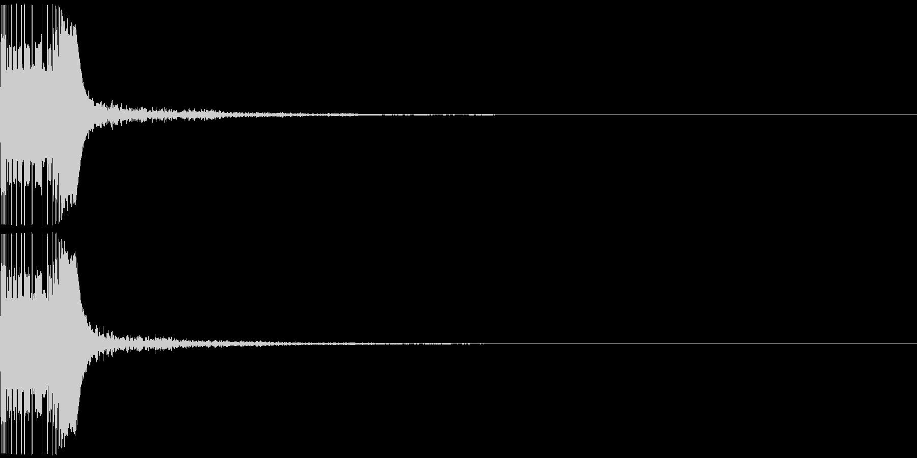 ボヨン3 スロー ボール おしり 弾力の未再生の波形