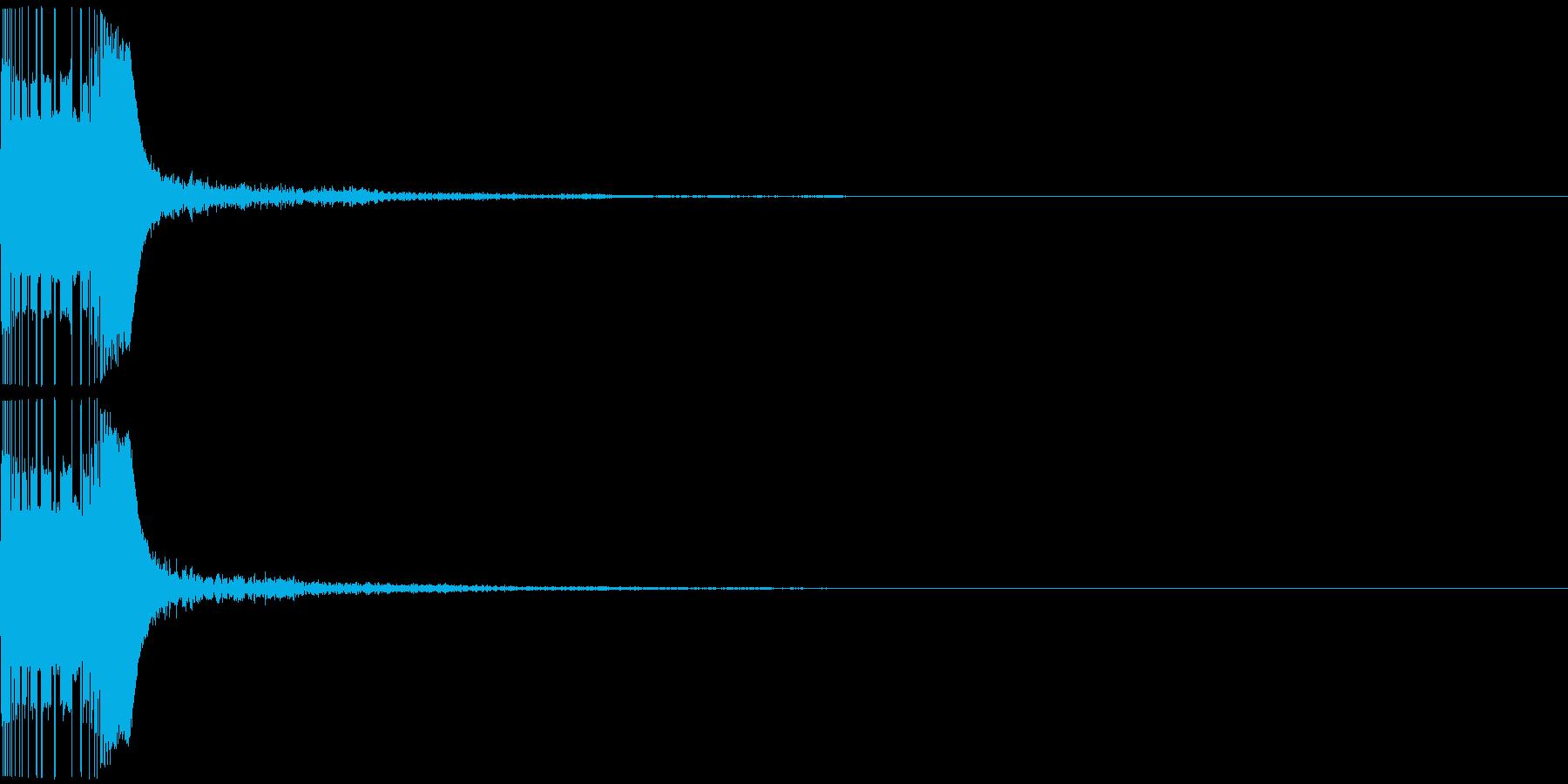 ボヨン3 スロー ボール おしり 弾力の再生済みの波形