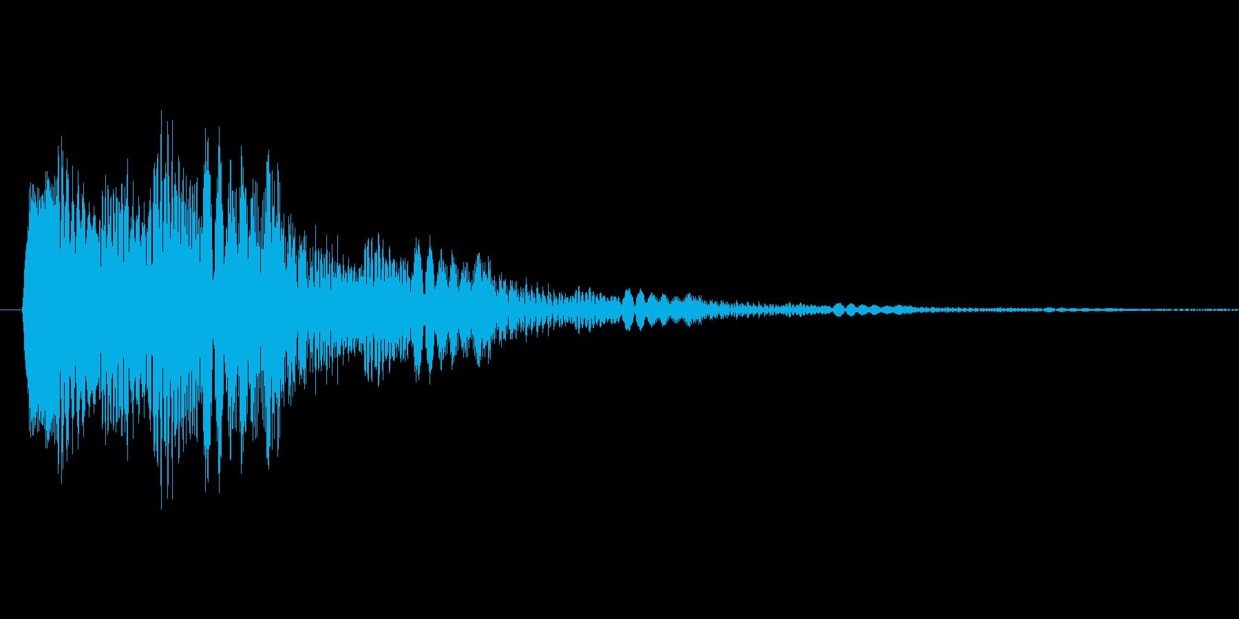 ポップアップ_決定音系_07の再生済みの波形