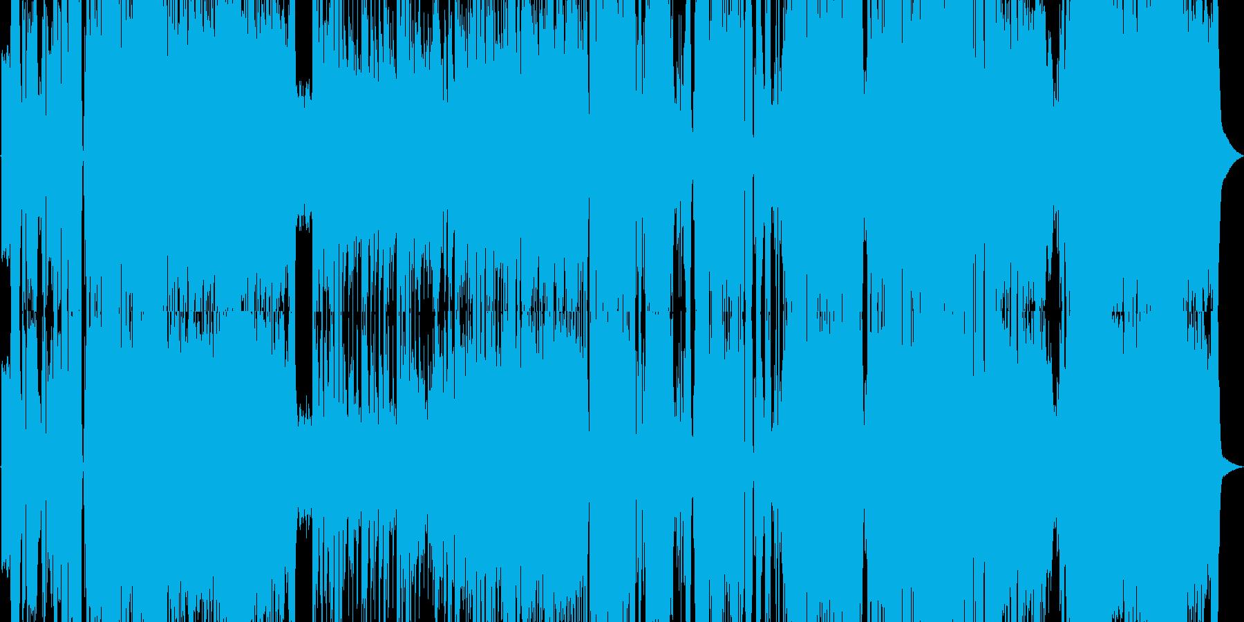 爽やかで清楚なアニソンの再生済みの波形