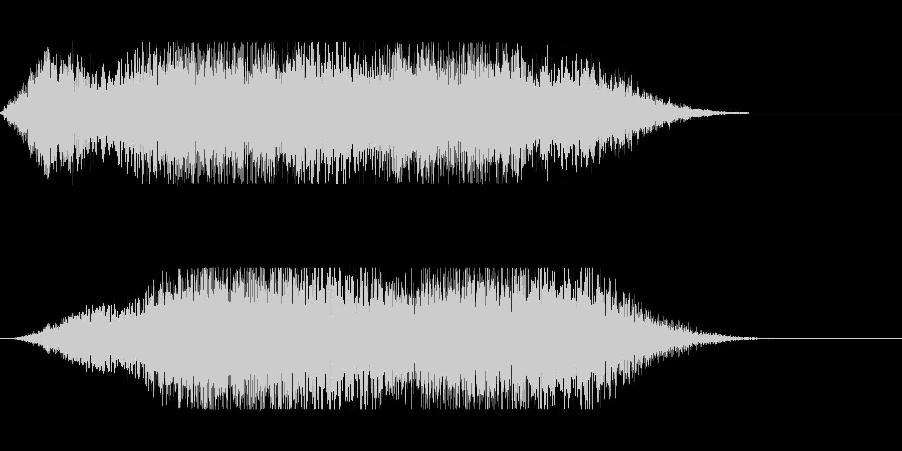 サーキットの背景音にの未再生の波形
