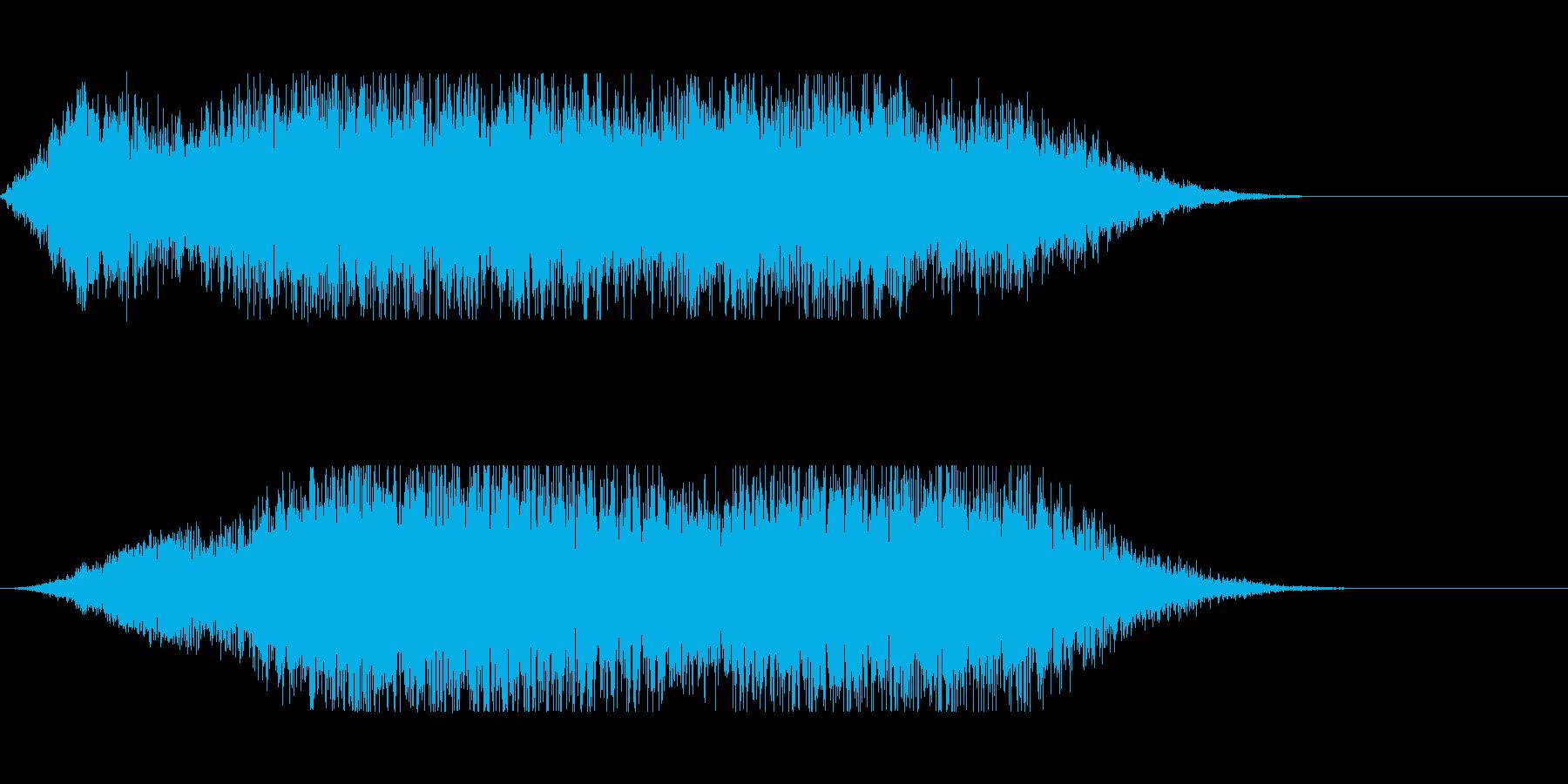 サーキットの背景音にの再生済みの波形
