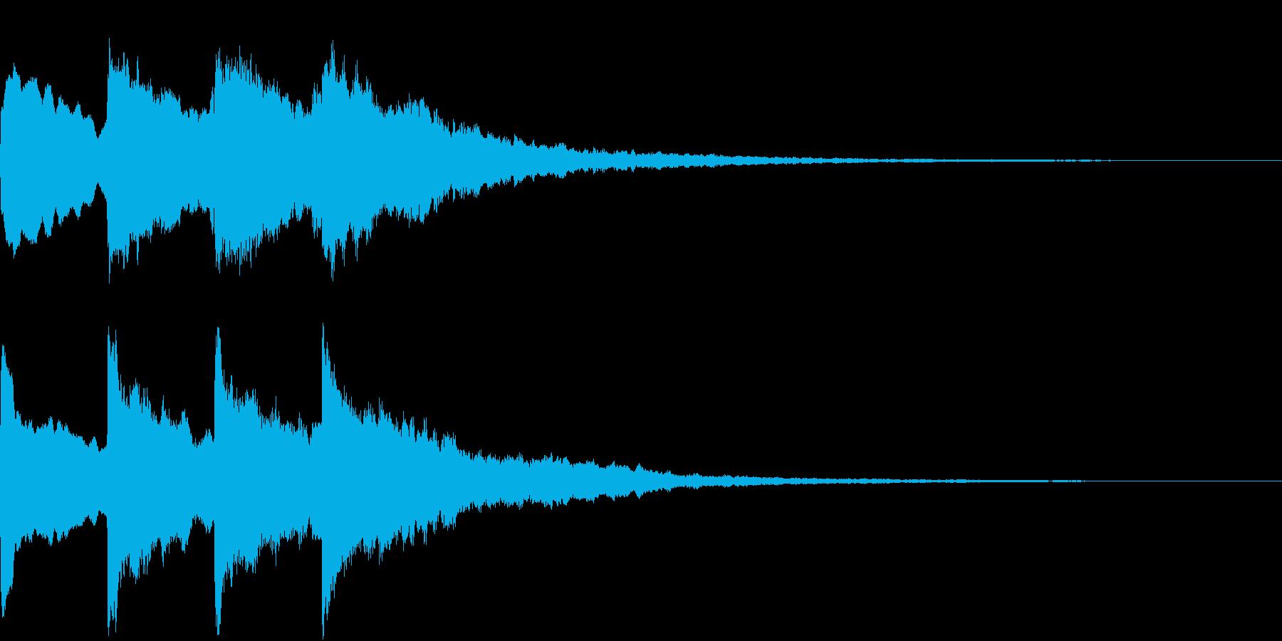 シンプル アナウンス 案内 放送 17の再生済みの波形