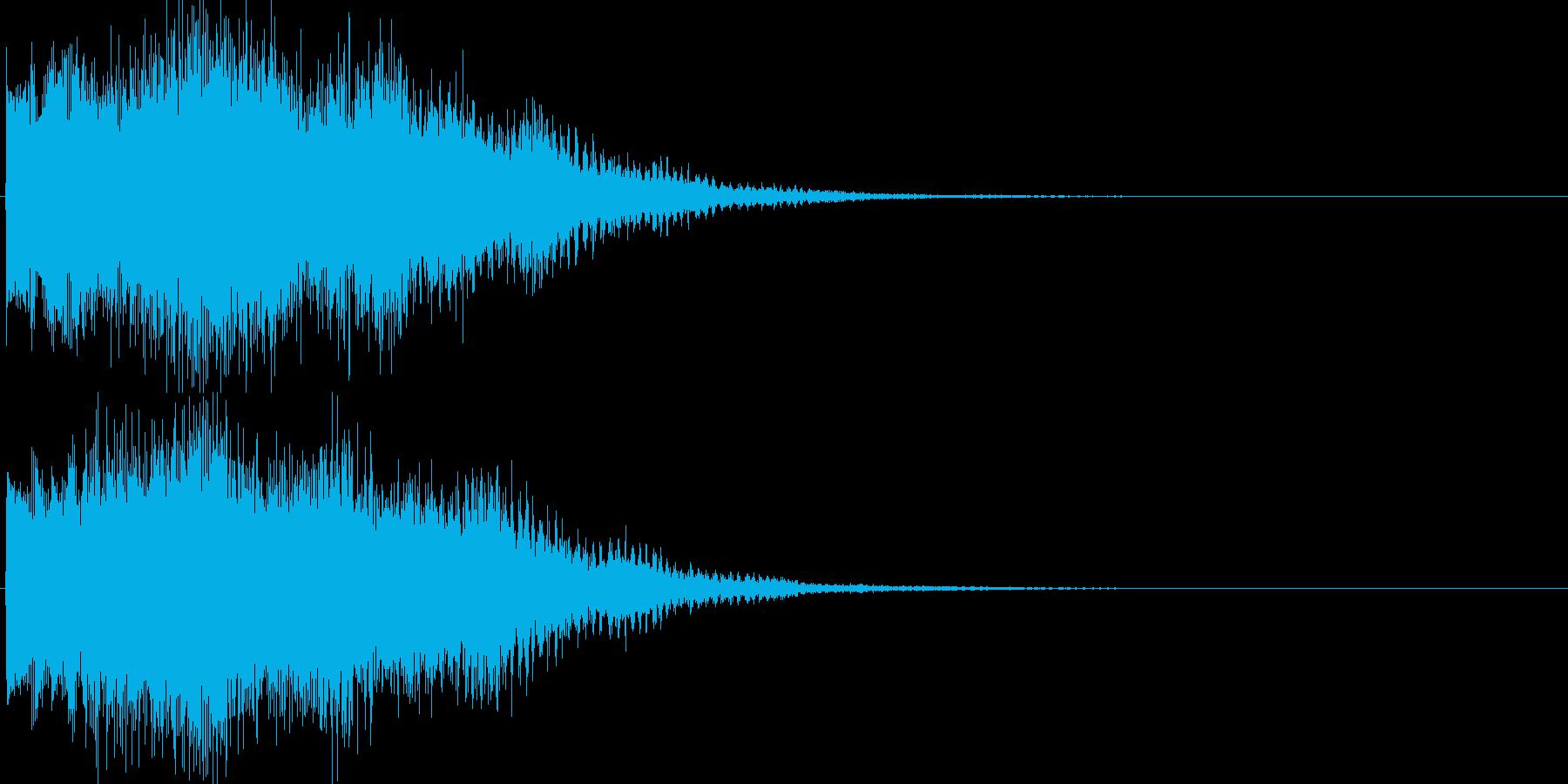 魔法音12の再生済みの波形