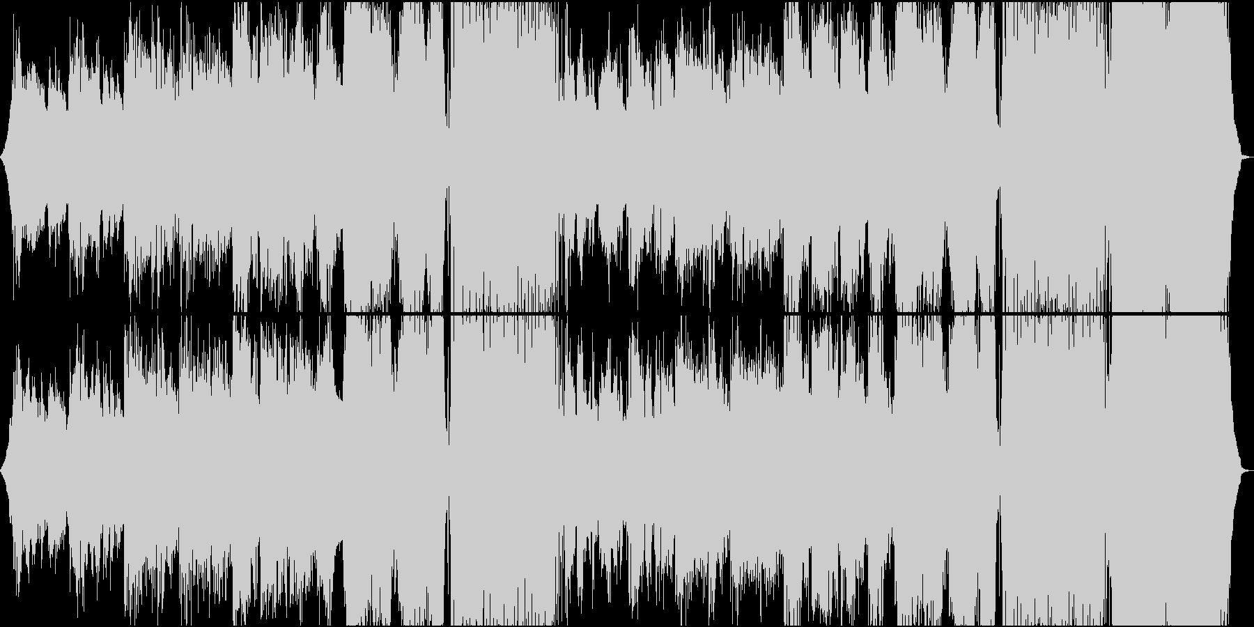 静かで切ないダンスミュージック(洋楽)の未再生の波形