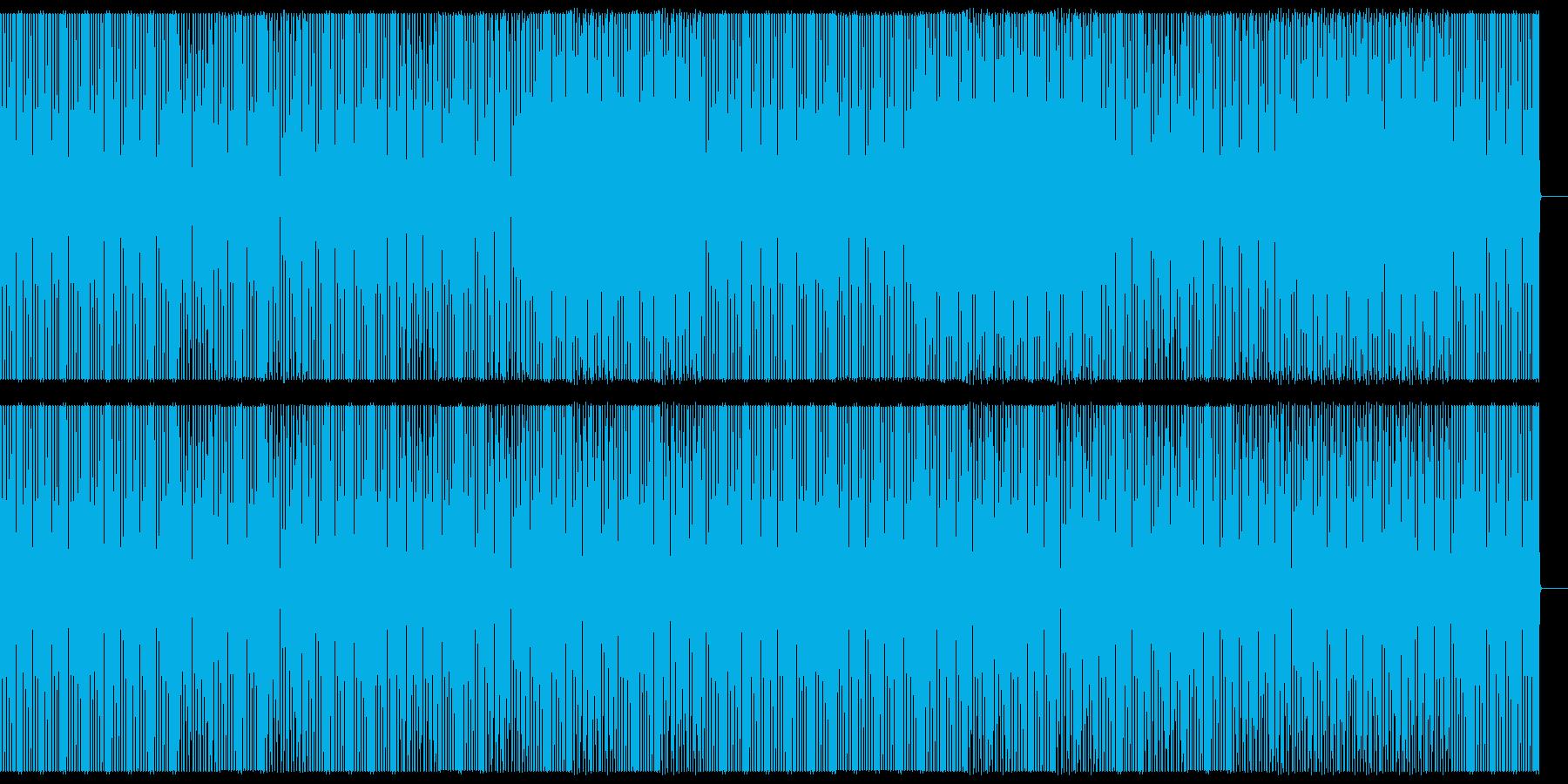 テクノ/クラブ/ビートトラック/#2の再生済みの波形