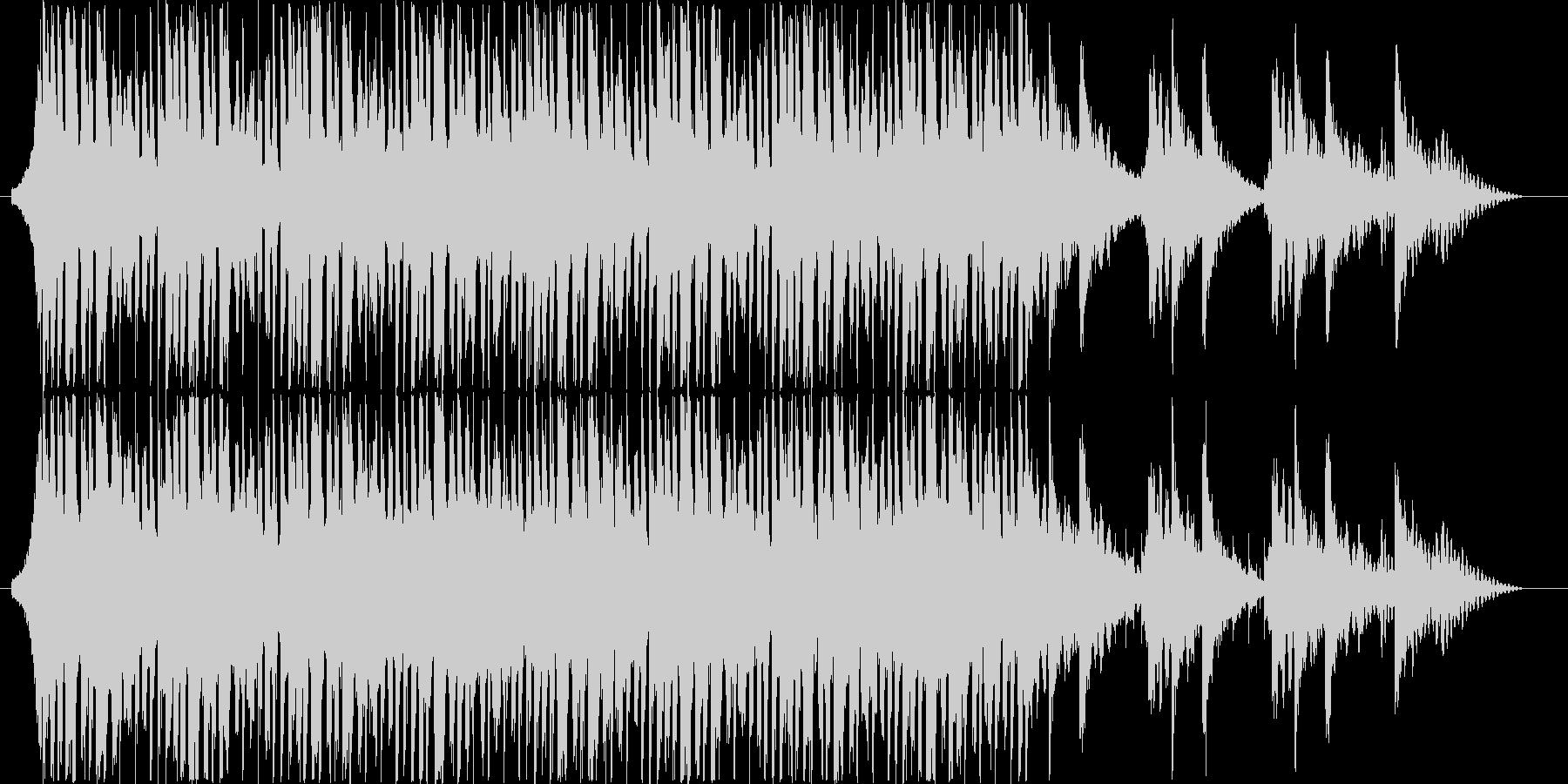 テクノポップ風ジングル・サウンドロゴの未再生の波形