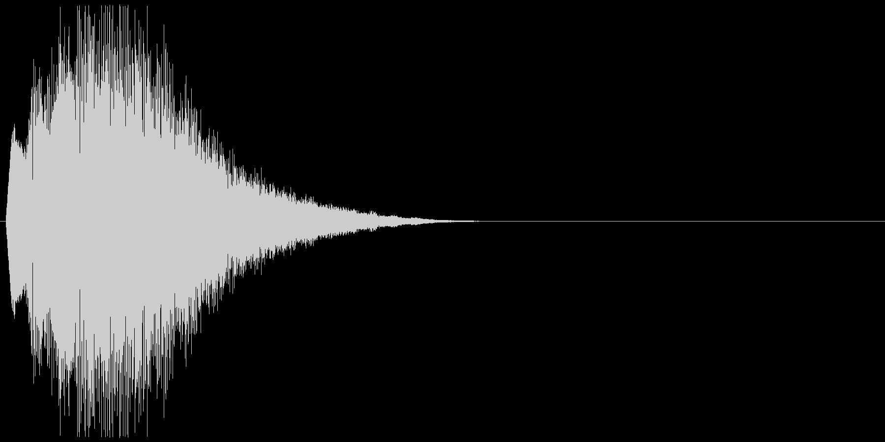 キュイーン+キラキラ(詠唱、呪文)の未再生の波形