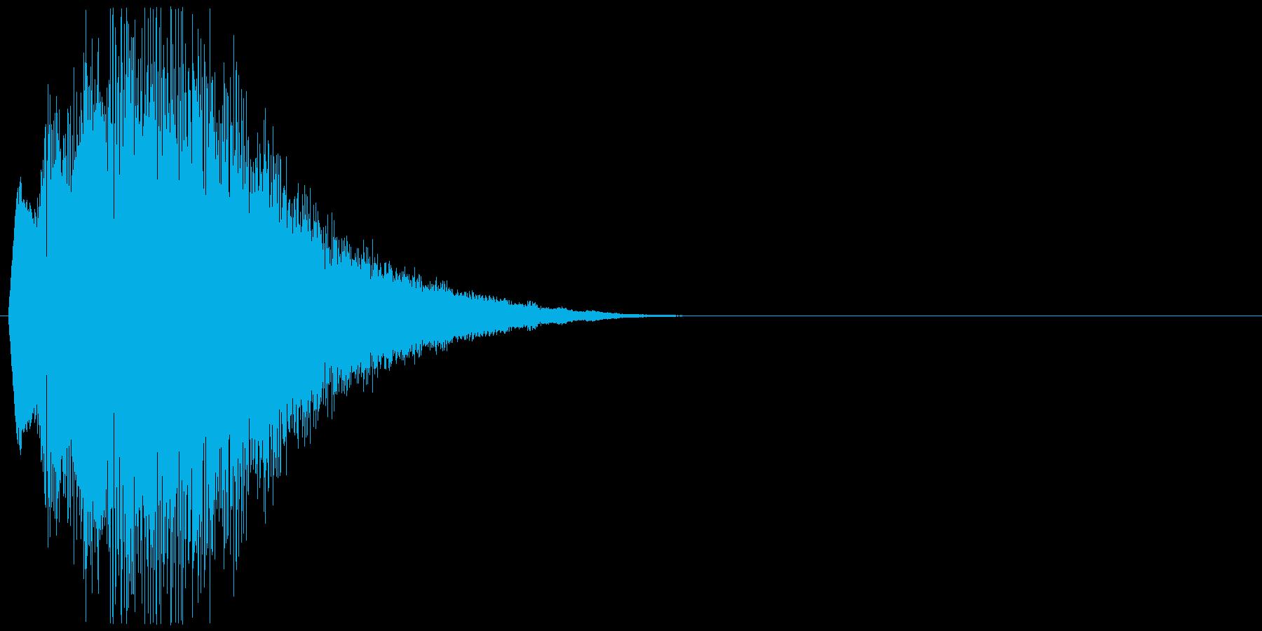 キュイーン+キラキラ(詠唱、呪文)の再生済みの波形