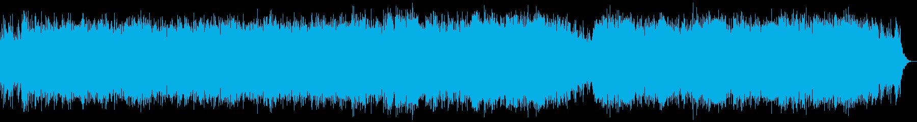 ★小洒落た★商品説明動画に最適な★BGMの再生済みの波形