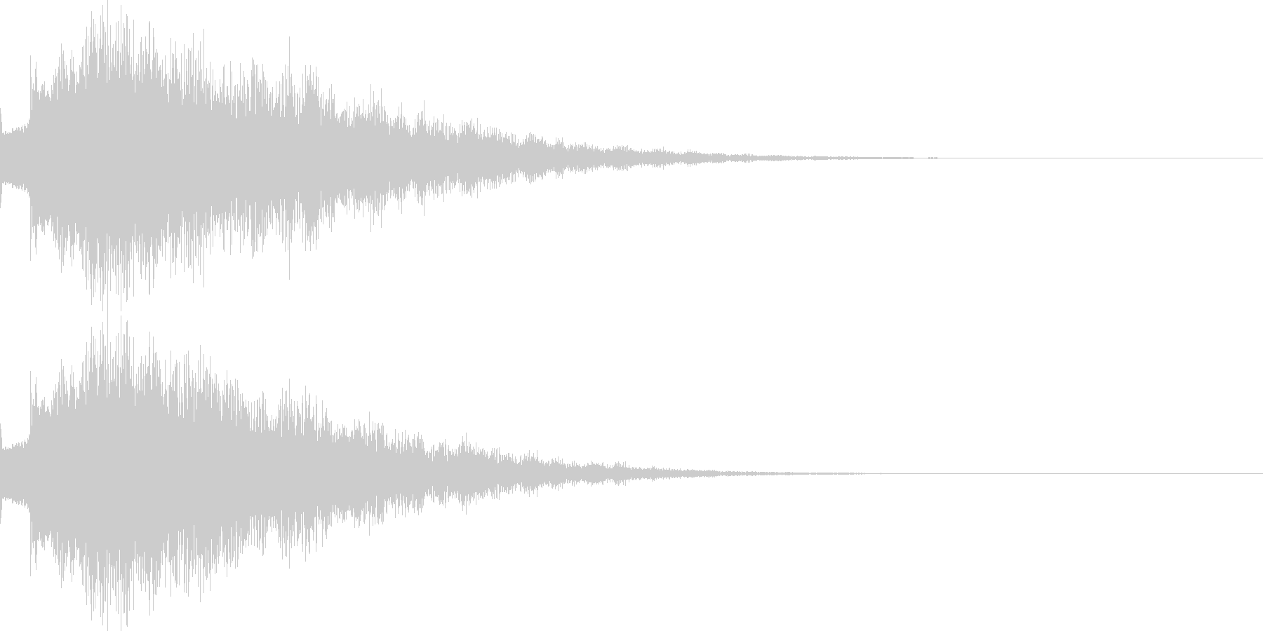 キラリン04の未再生の波形