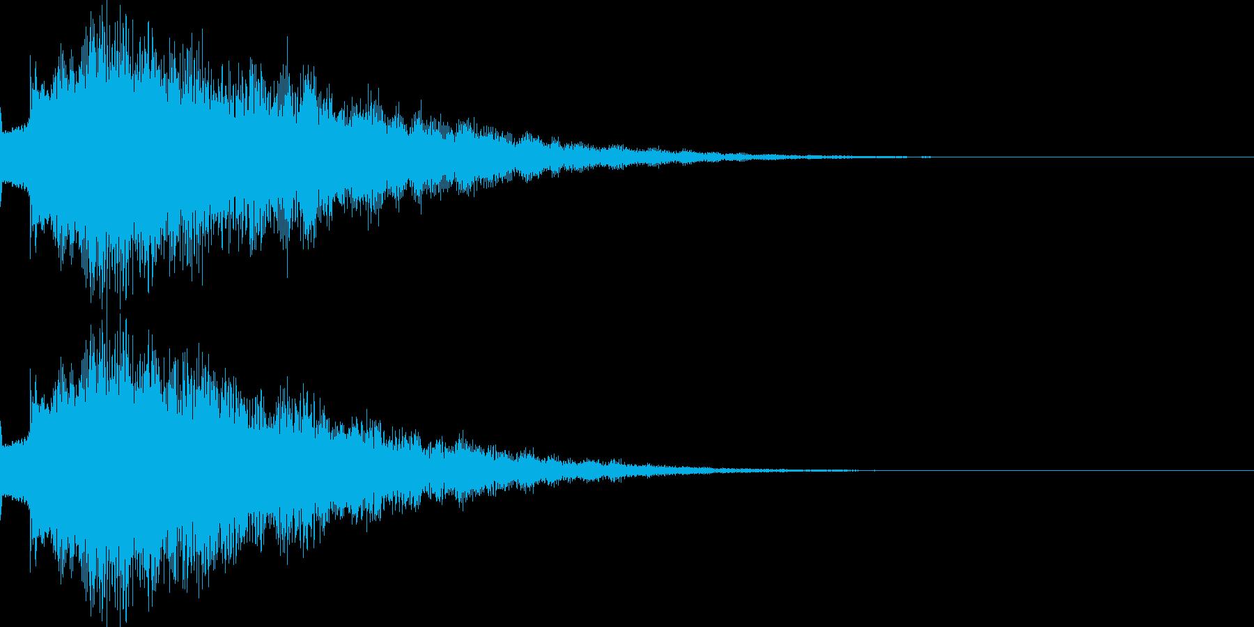 キラリン04の再生済みの波形
