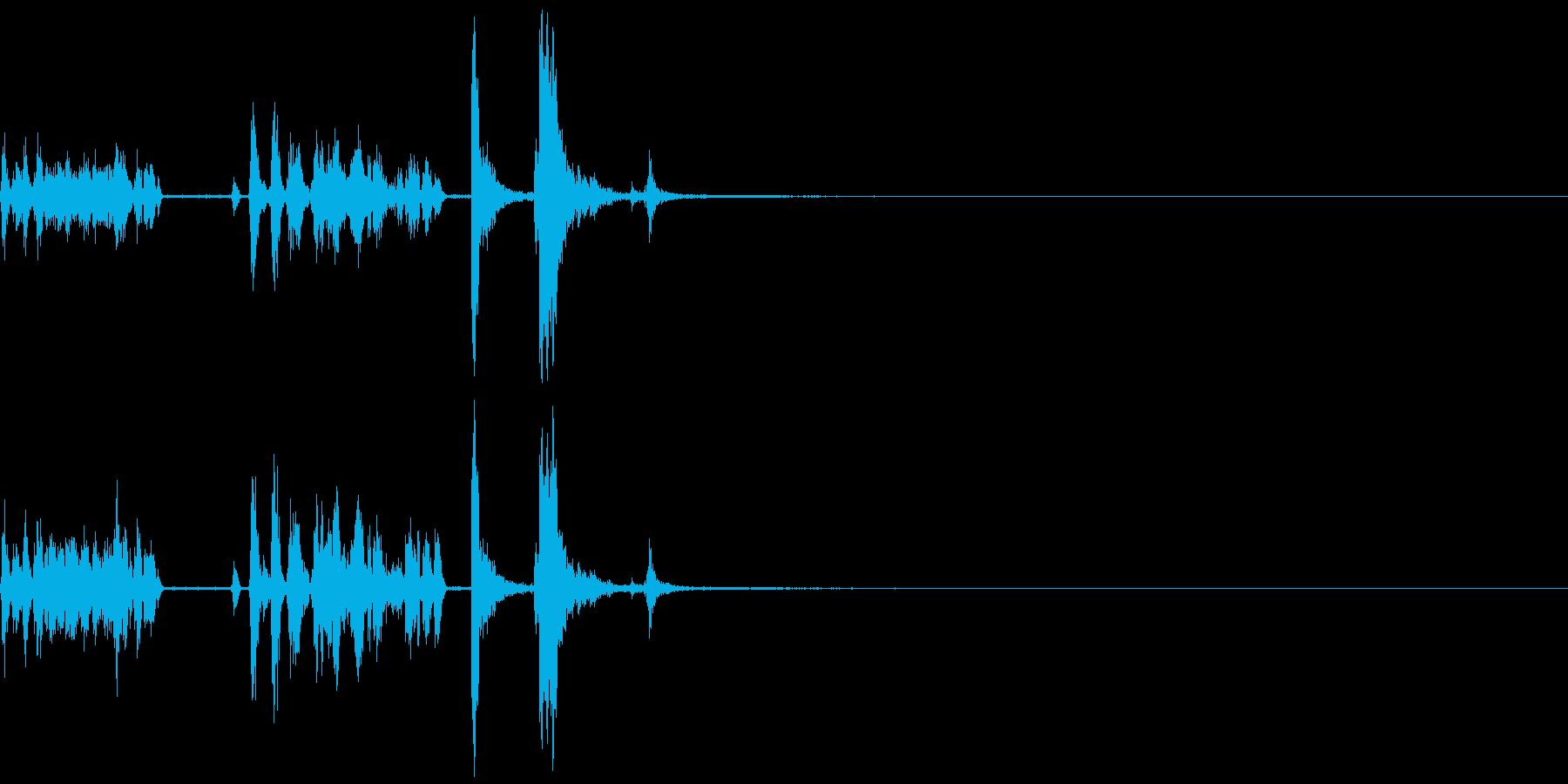 ガラポン ガチャガチャ 遊び くじ引き の再生済みの波形