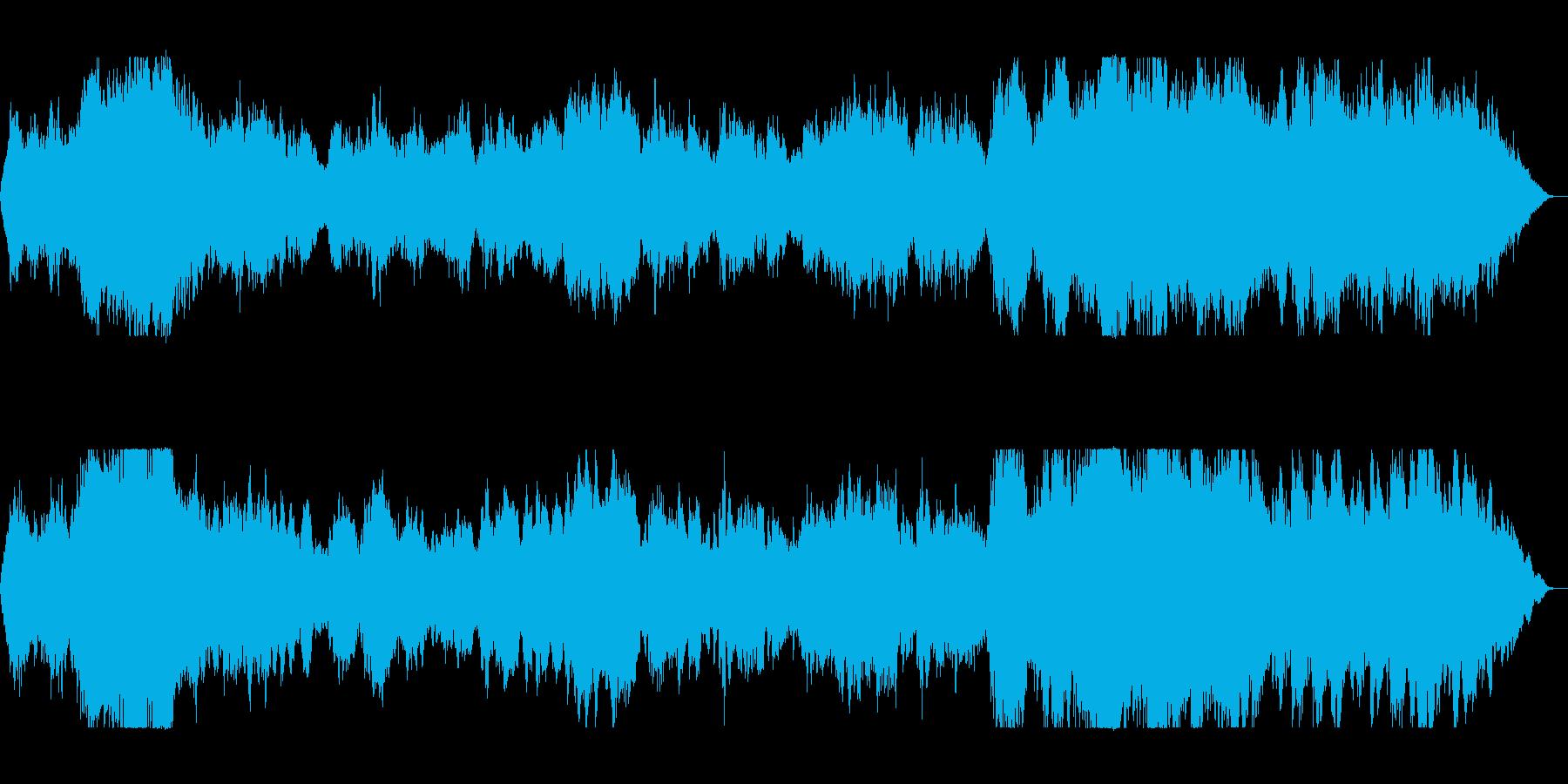 雄大で重厚感あるイージーリスニングの再生済みの波形