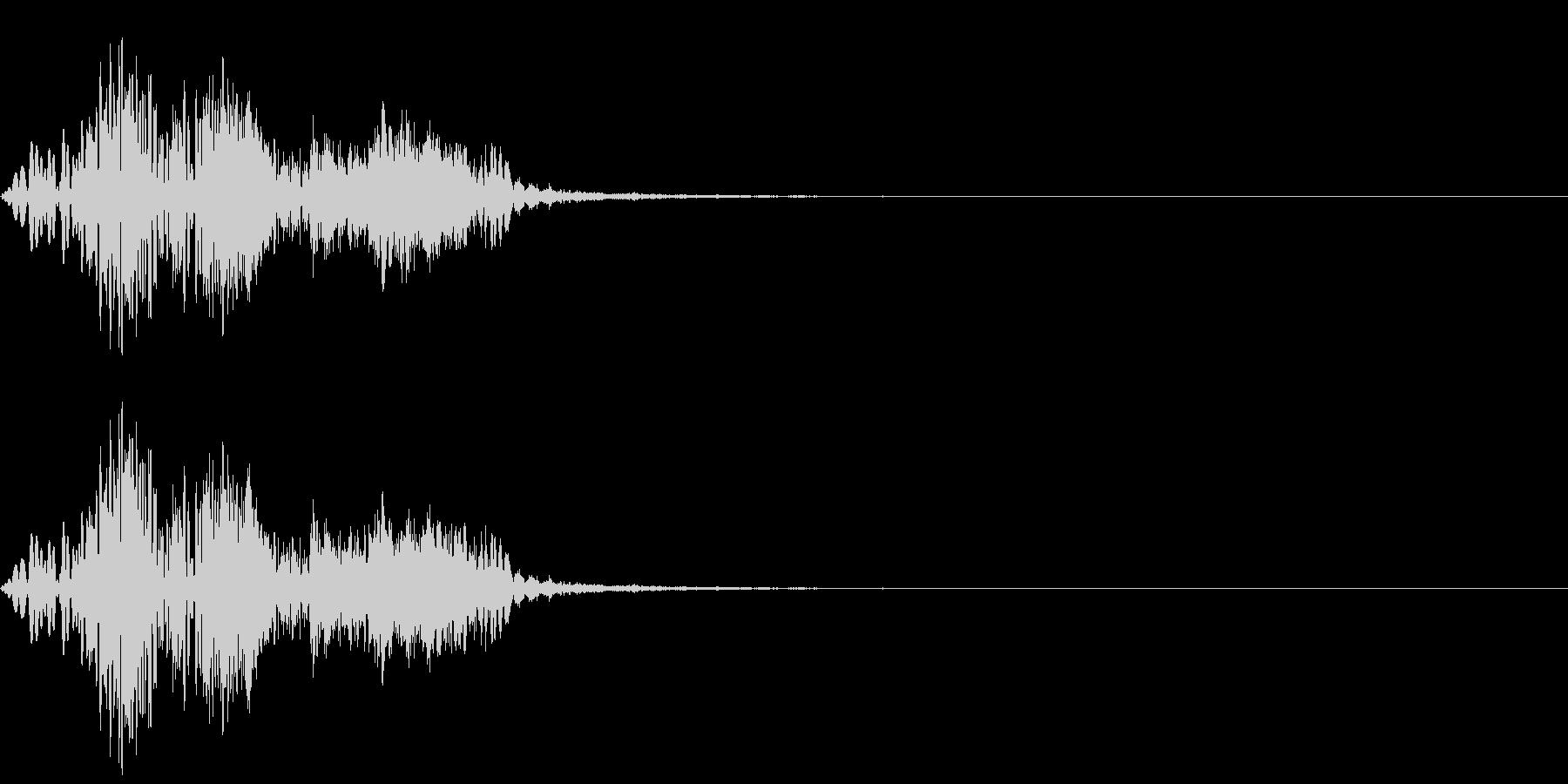 [効果音]能力アップ、魔法の未再生の波形