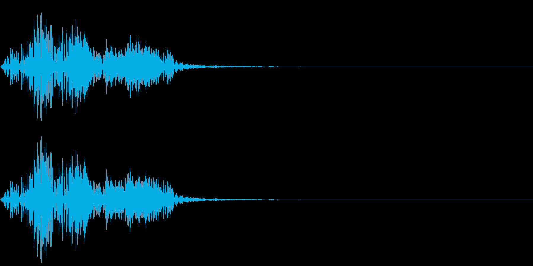 [効果音]能力アップ、魔法の再生済みの波形