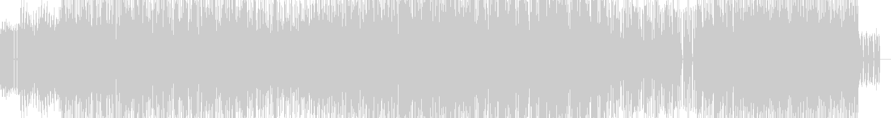 70年代フューチャーレトロファンクの未再生の波形