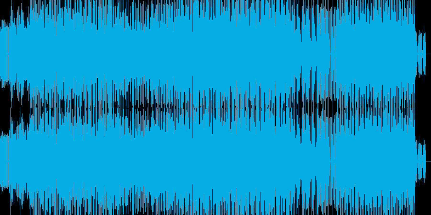 70年代フューチャーレトロファンクの再生済みの波形