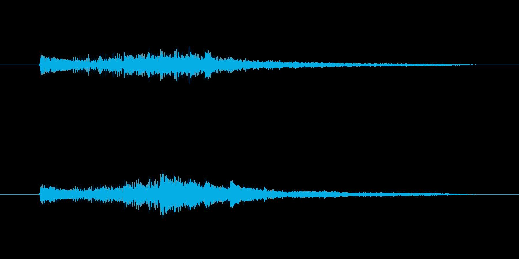 何かをクリアした時の音をしての使用を想…の再生済みの波形