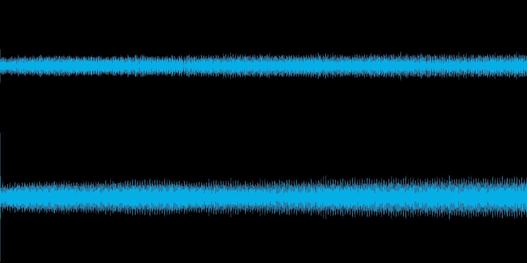扇風機の弱回転の再生済みの波形
