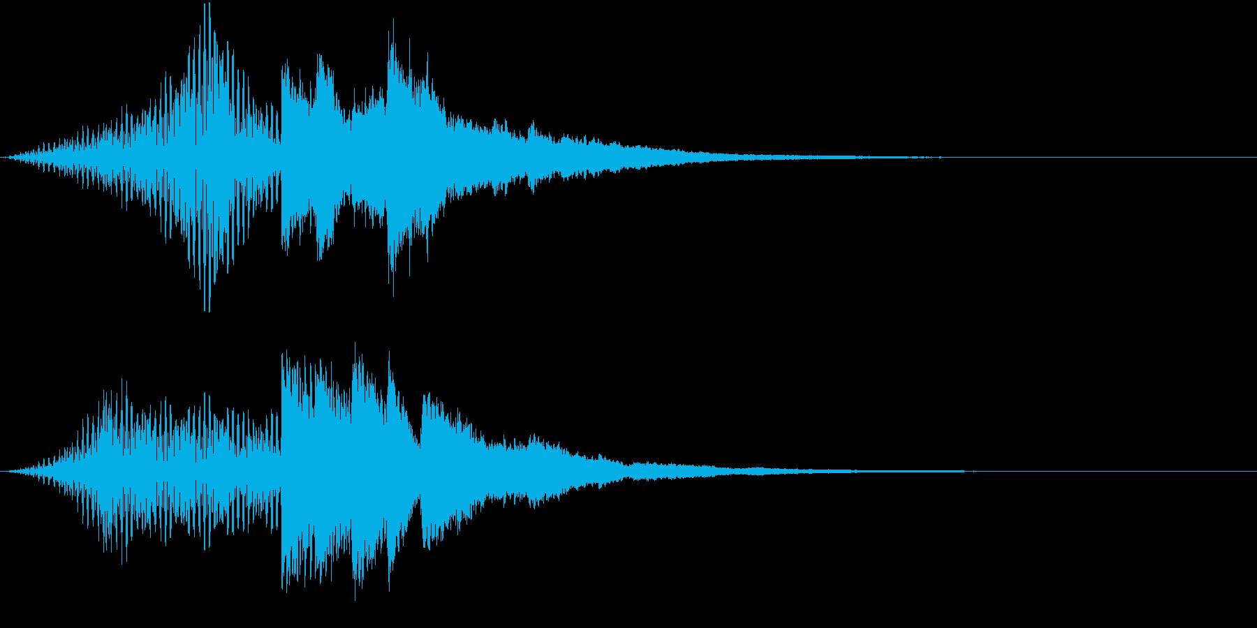 暮らしの音 入店 ベル1の再生済みの波形