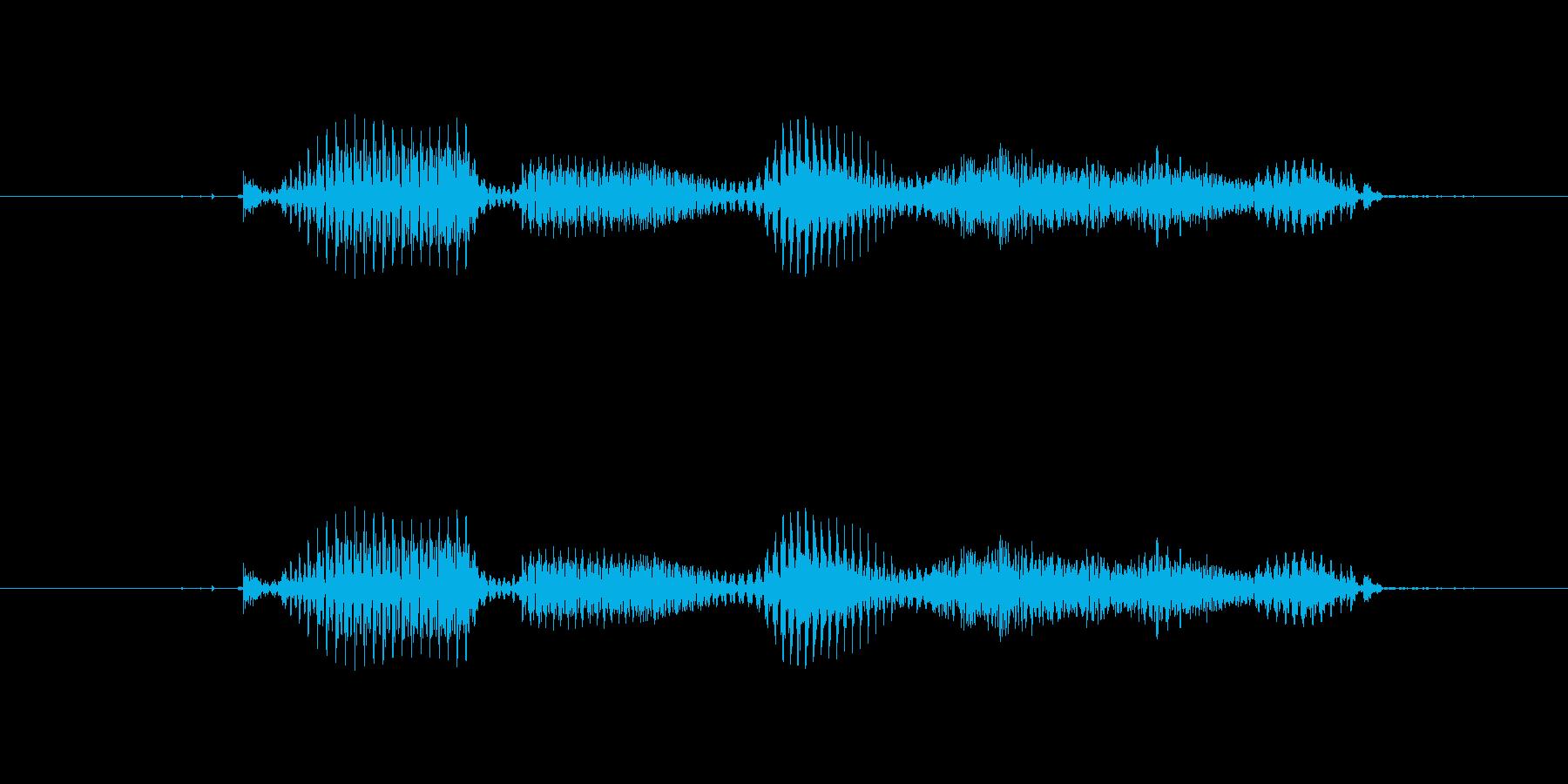 【干支】トリ年の再生済みの波形