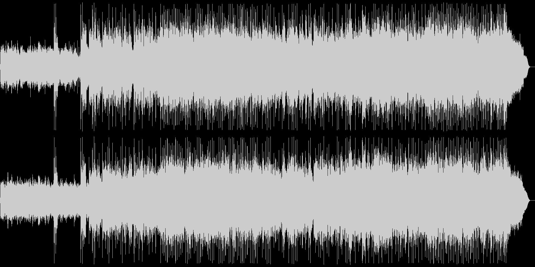 メタル戦闘曲 バトルフィールド Mix2の未再生の波形