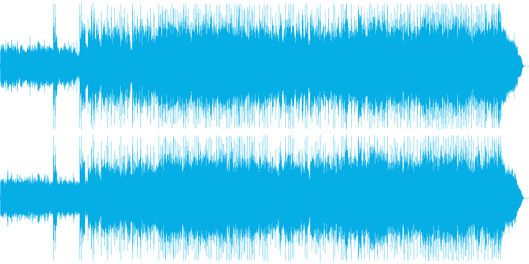 メタル戦闘曲 バトルフィールド Mix2の再生済みの波形