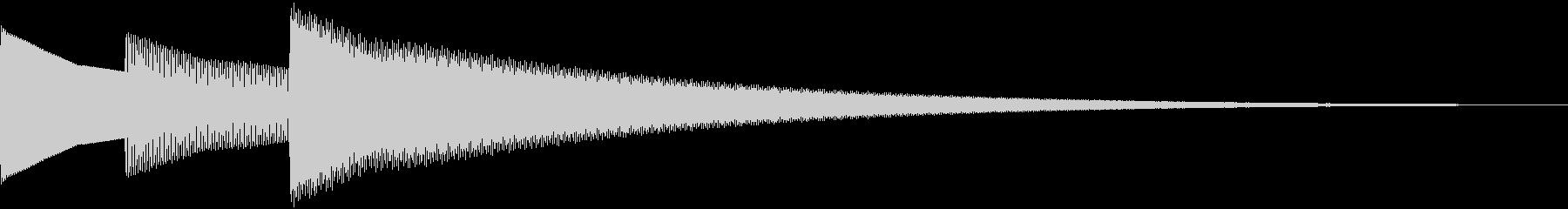 アイテム入手など ピロリーンの未再生の波形