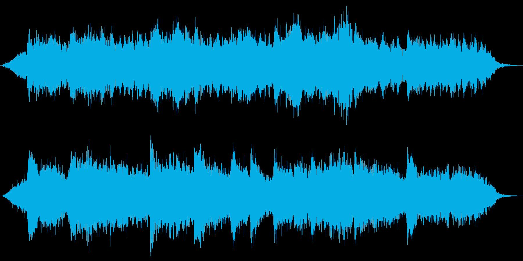 哀愁 悲しみ ストリングスの再生済みの波形