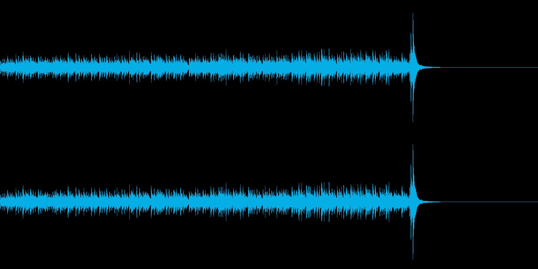 スタタタ タン! スネアロール1ロングの再生済みの波形