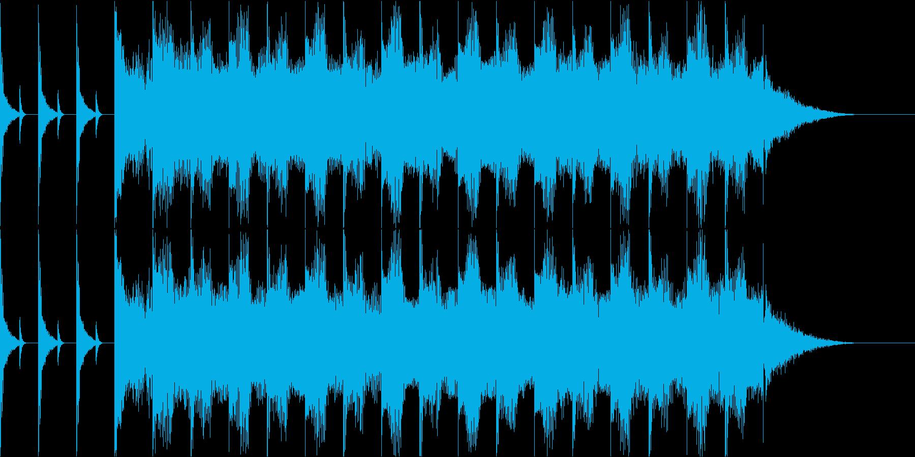 YouTubeカッコいいOP.EDの再生済みの波形