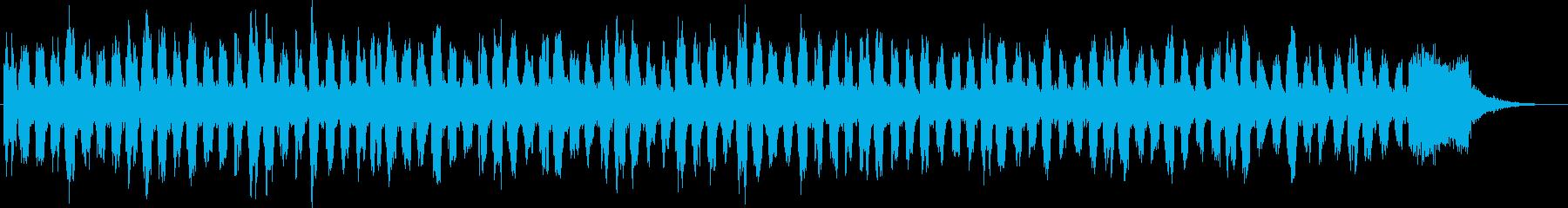 ホルンとベースとシンセの不思議な世界2の再生済みの波形