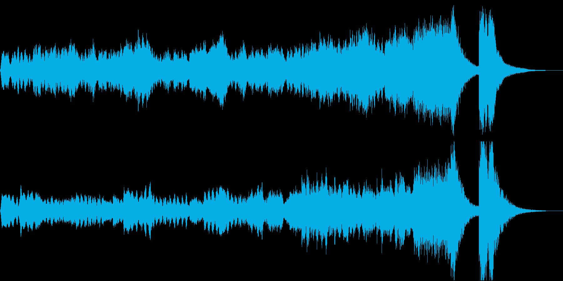 晴れ渡るファンタジー イントロ ジングルの再生済みの波形