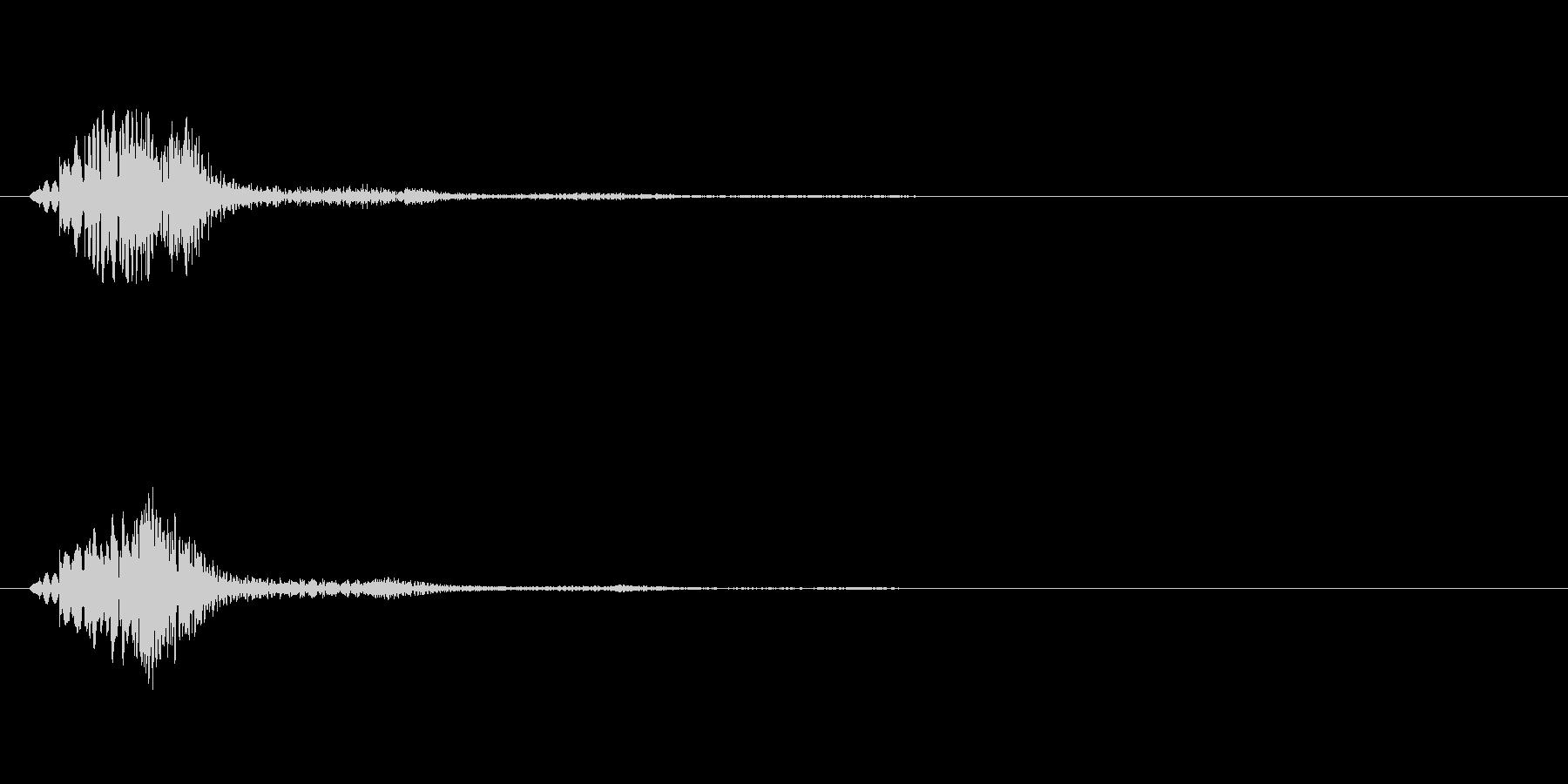 【ショートブリッジ03-3】の未再生の波形
