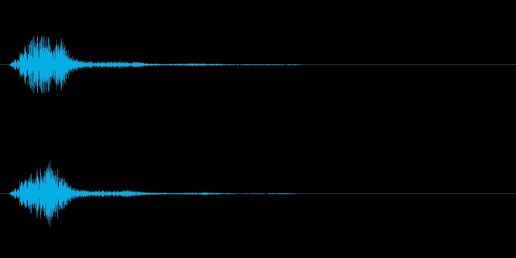 【ショートブリッジ03-3】の再生済みの波形