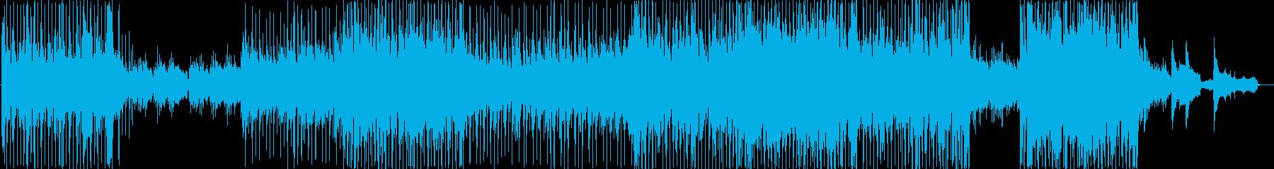 日本的な旋律のポップバラードの再生済みの波形