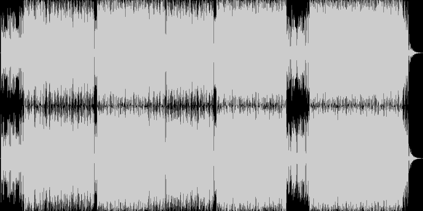 可愛らしい雰囲気のアップテンポ曲です。の未再生の波形