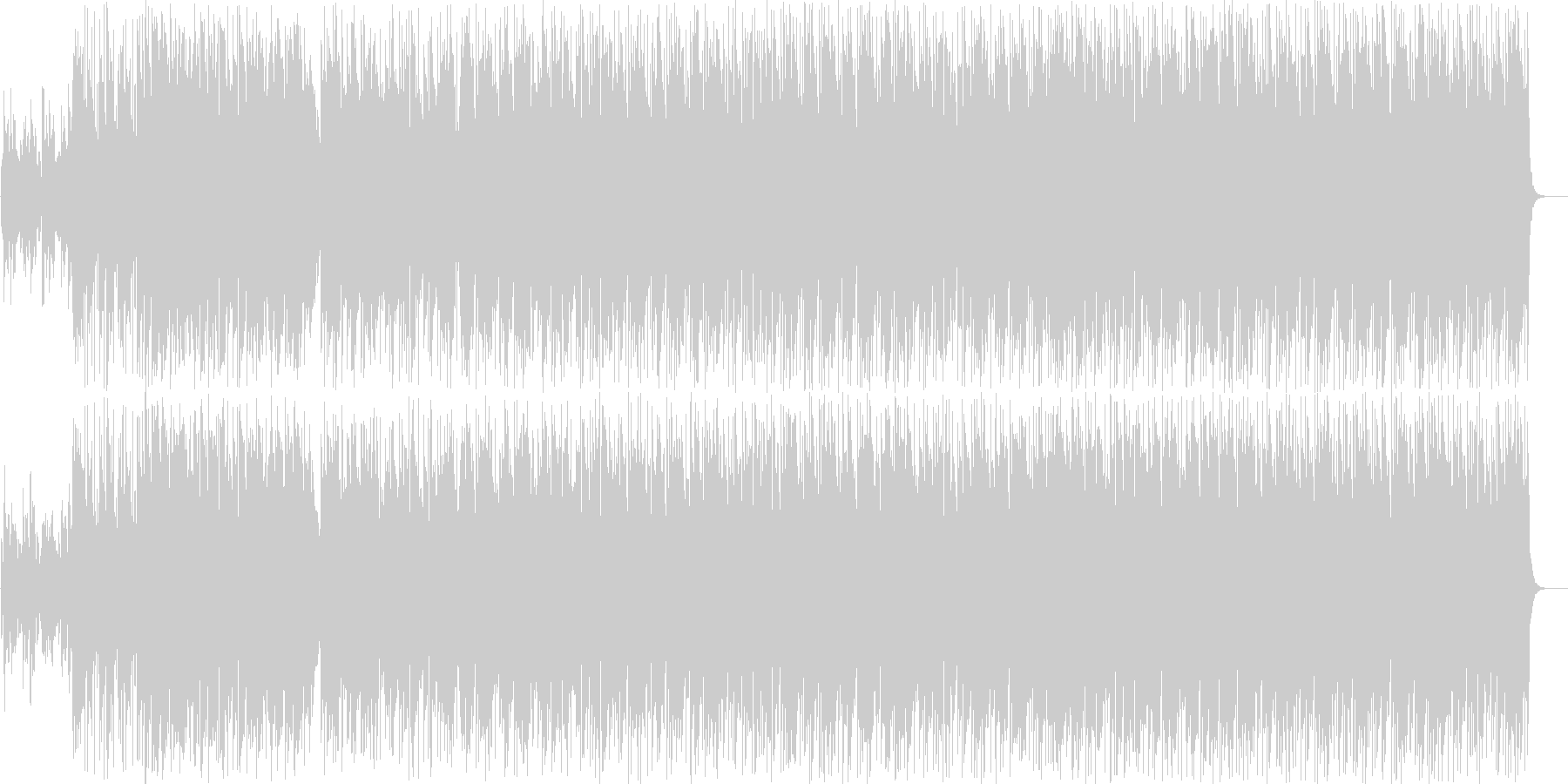 エレピが効いたメロウなバラードの未再生の波形