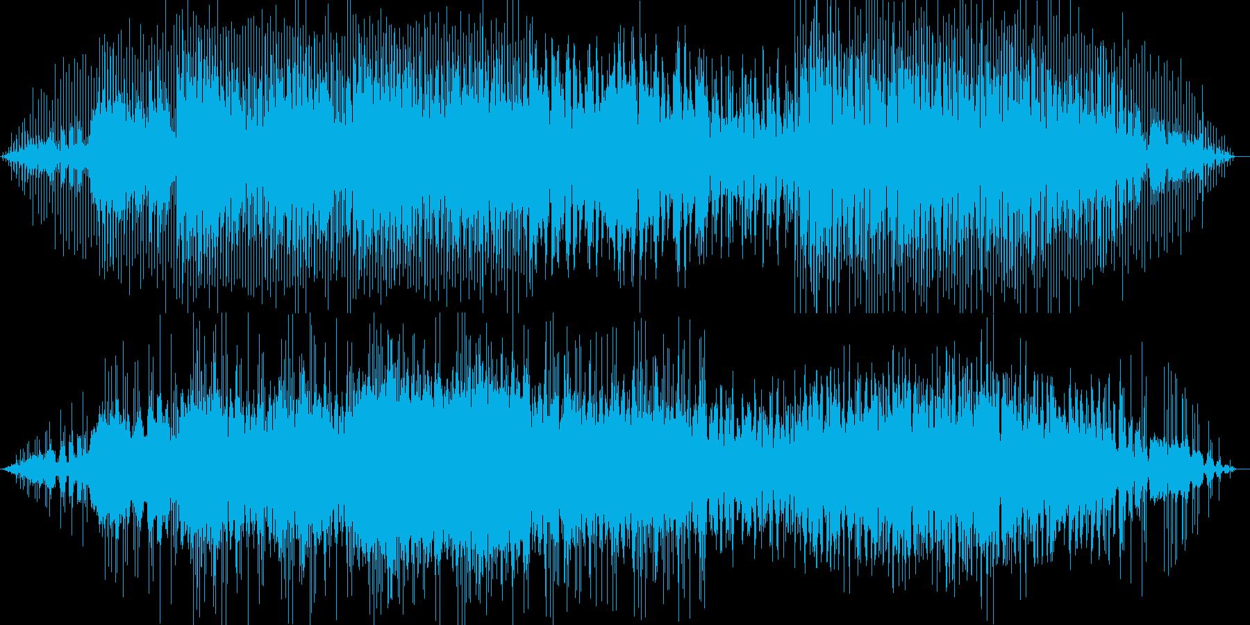 オリエンタルなハウスエレクトロニカの再生済みの波形