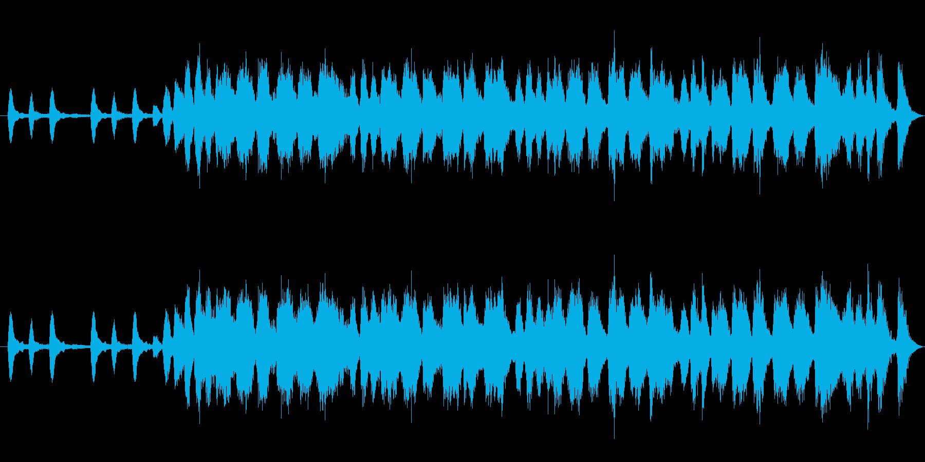 ガチャガチャの再生済みの波形