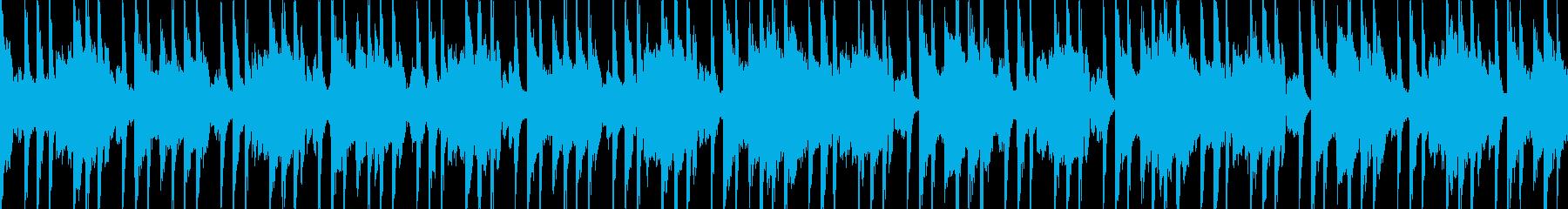 汎用BGM/爽やか(LOOP対応)の再生済みの波形