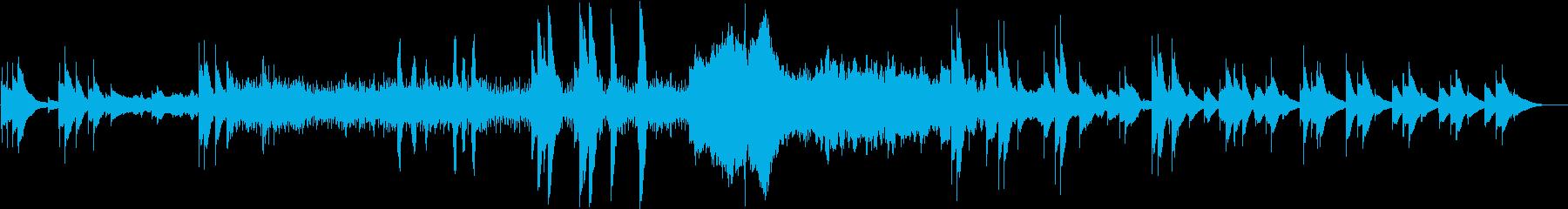 不思議不穏でノイジーなトイミュージック風の再生済みの波形