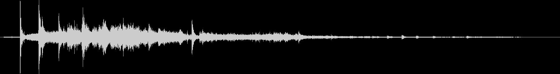 【生活音】水道の蛇口01Bの未再生の波形