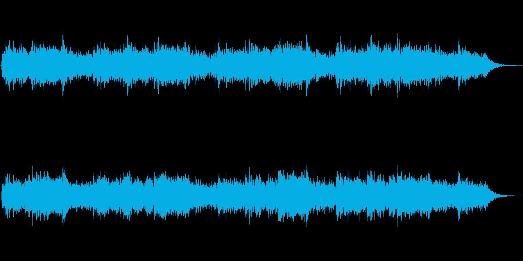 ミニマルな雰囲気のアンビエントジングル2の再生済みの波形