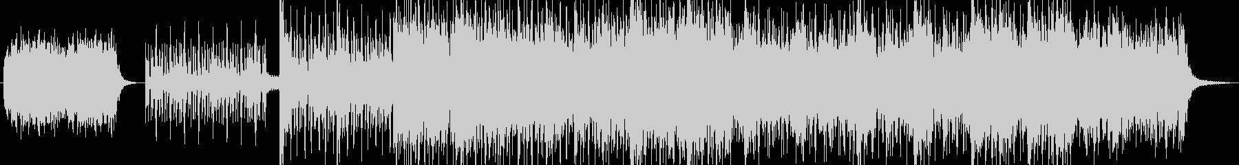 ドラムを中心としたリズム&エレクトロニカの未再生の波形