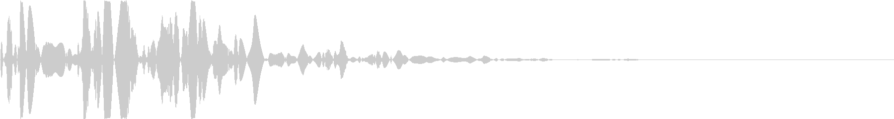 ベチャッ02(泥・液体系のアクション音)の未再生の波形